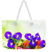 Spring Tulips And Irises Weekender Tote Bag