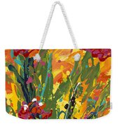 Spring Tulips Triptych Panel 1 Weekender Tote Bag