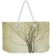 Spring Unfolds Weekender Tote Bag by Priska Wettstein