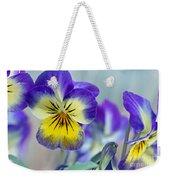 Spring Violas Weekender Tote Bag