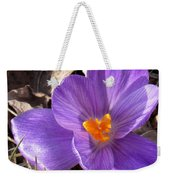 Spring Violet Weekender Tote Bag