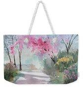Spring Walk Weekender Tote Bag