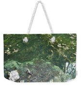 Spring Water At The Grotto Weekender Tote Bag