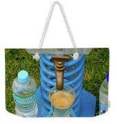 Spring Water On Tap Here Weekender Tote Bag
