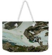 Spring Waterfall Arial Weekender Tote Bag