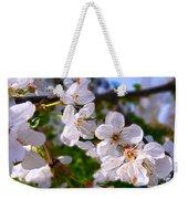 Spring White Weekender Tote Bag