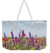 Spring Wild Flowers Meadow Weekender Tote Bag