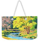 Spring Willow Weekender Tote Bag