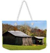 Spring Woods And Barn Weekender Tote Bag