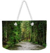Spring Woods Greenery Weekender Tote Bag
