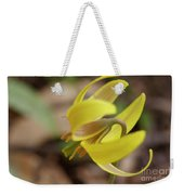 Spring Yellow Flower Weekender Tote Bag