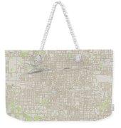 Springfield Missouri Us City Street Map Weekender Tote Bag
