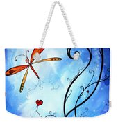 Springs Sweet Song Original Madart Painting Weekender Tote Bag