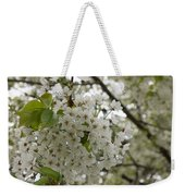 Springtime Abundance - Masses Of White Blossoms Weekender Tote Bag