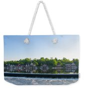 Springtime At Boathouse Row In Philadelphia Weekender Tote Bag