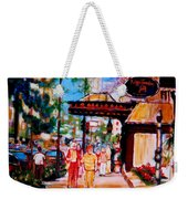 Springtime At The Ritz Weekender Tote Bag
