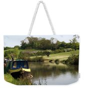 Springtime By The Canal Weekender Tote Bag