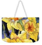 Springtime Daffodils Weekender Tote Bag