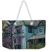 Springtime In Old Town Weekender Tote Bag by Mary Benke