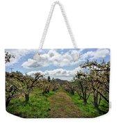 Springtime In The Apple Grove Weekender Tote Bag