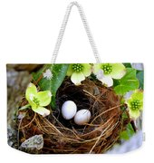 Springtime Weekender Tote Bag by Karen Wiles