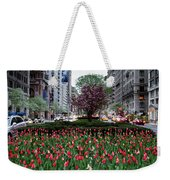 Springtime On Park Avenue Weekender Tote Bag