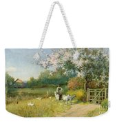 Springtime Weekender Tote Bag