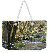 Springtime Stream In The Smokies Weekender Tote Bag