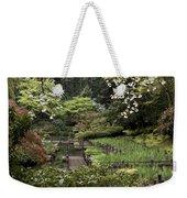 Springtime Walkway Weekender Tote Bag