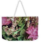 Springtime With Flowers Weekender Tote Bag