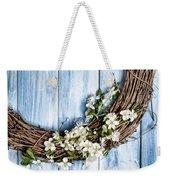 Springtime Wreath Weekender Tote Bag