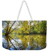 Springtime Yellows And Blues Weekender Tote Bag