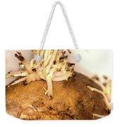 Sprouting Potato Weekender Tote Bag