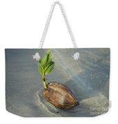 Sprouting Coconut Weekender Tote Bag