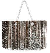 Spruce Among The Pines Weekender Tote Bag