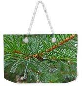 Spruce Drops Weekender Tote Bag