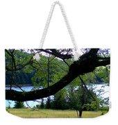 Spruce Knob Silhouette Weekender Tote Bag