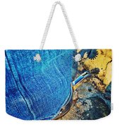 Spur Shadow On Stone Weekender Tote Bag
