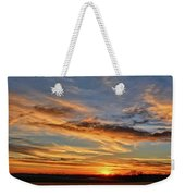 Spwinter Sunset Weekender Tote Bag