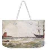 Squally Weather, Portsmouth Weekender Tote Bag