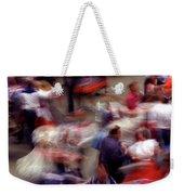 Square Dance Love Weekender Tote Bag