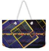 Square Fractals Weekender Tote Bag