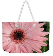 Square Framed Pink Daisy Weekender Tote Bag