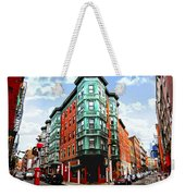 Square In Old Boston Weekender Tote Bag by Elena Elisseeva