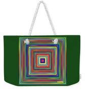 Square Shadings Weekender Tote Bag