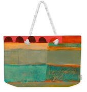 Square Stripes Weekender Tote Bag