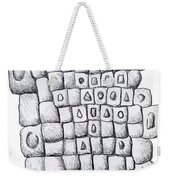 Square Wall Weekender Tote Bag