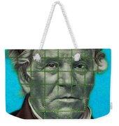 Squared Senator Detail Weekender Tote Bag