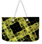 Squares In Abstract Weekender Tote Bag