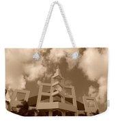 Squares In The Sky Weekender Tote Bag